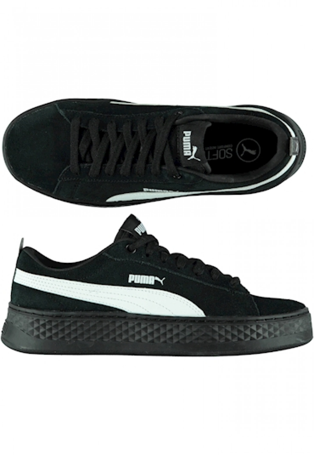 Puma Smash Platform Sd Black