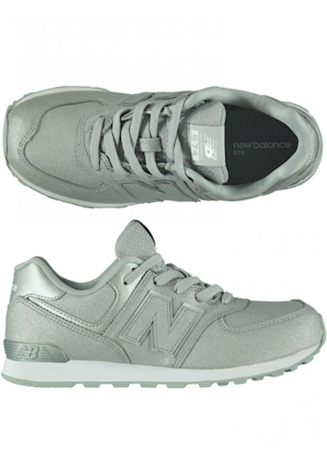 New Balance Gc574ks Silver